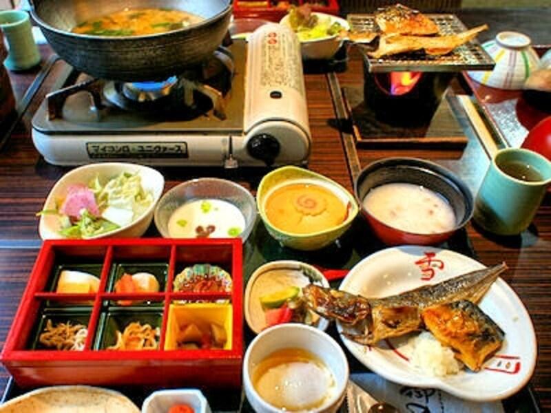 箱根強羅温泉季の湯雪月花の朝食