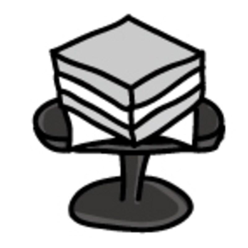 【モノクロ】お供え物の代表格、菱餅です。【2018年ひな祭りのイラスト】