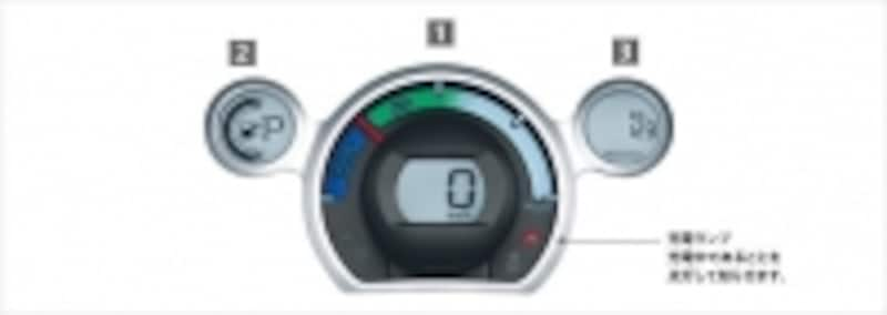 (図)パワーダウン警告灯undefined三菱自動車より引用