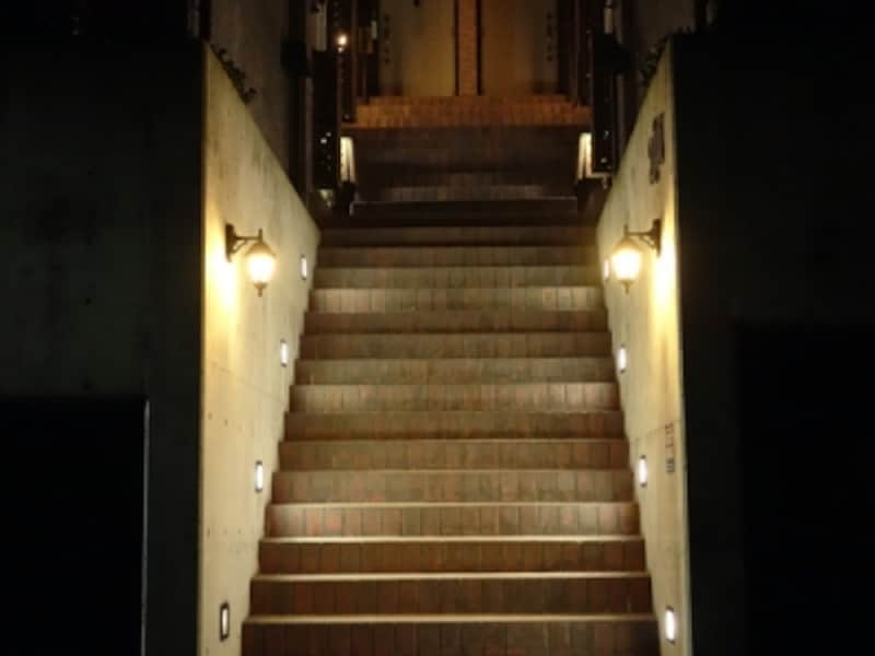 階段部分の照明