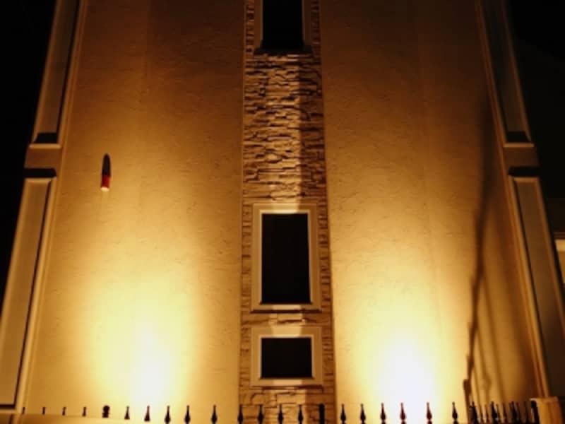 家のスポットライト