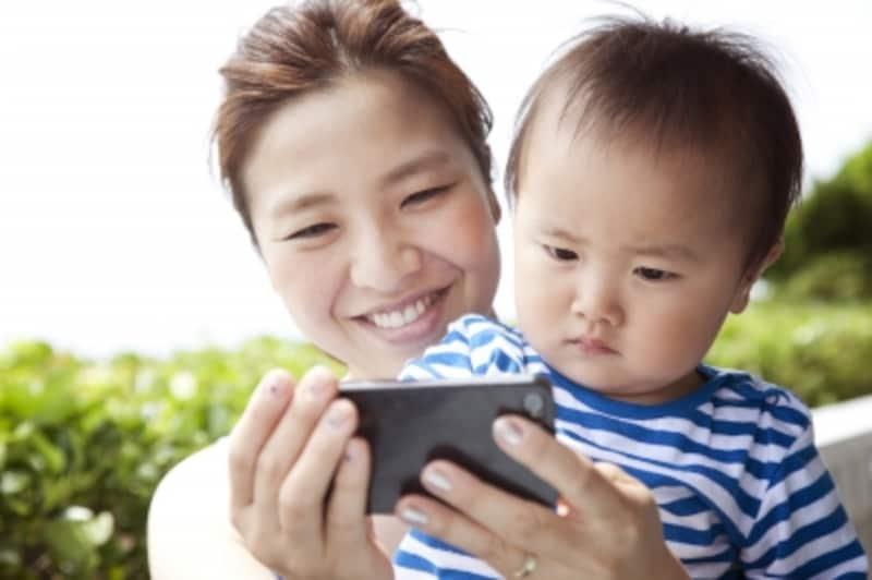 スマホやタブレットの設定で有害サイトや誤操作から子供を守る