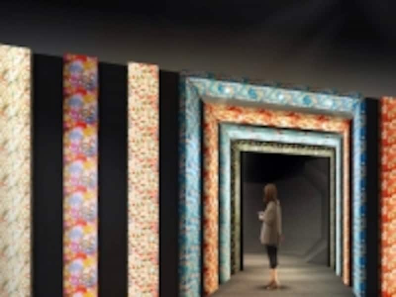 『桜和紙の門』