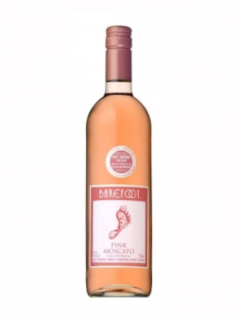 なんとも華やかな桜色のボトル「ピンクモスカート」