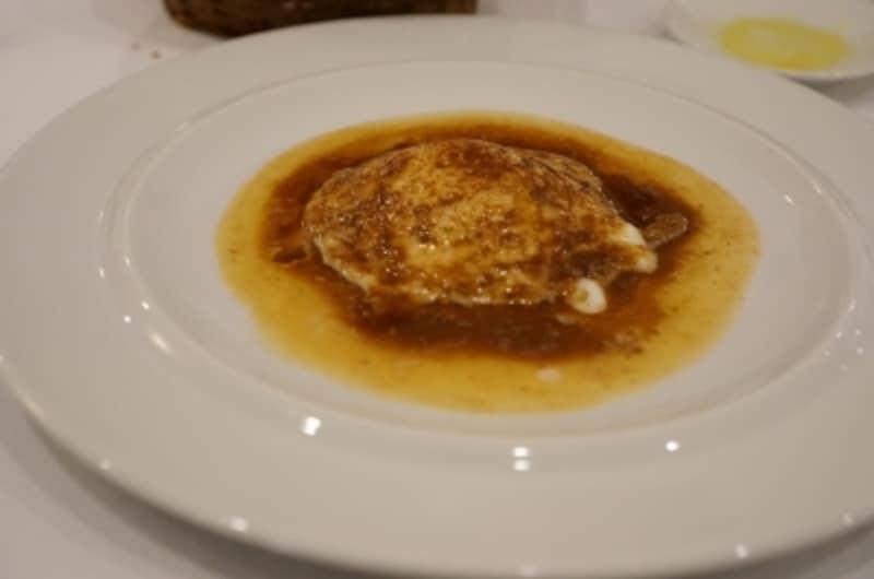 モッツァレラとアンチョビソースのオーブン焼き