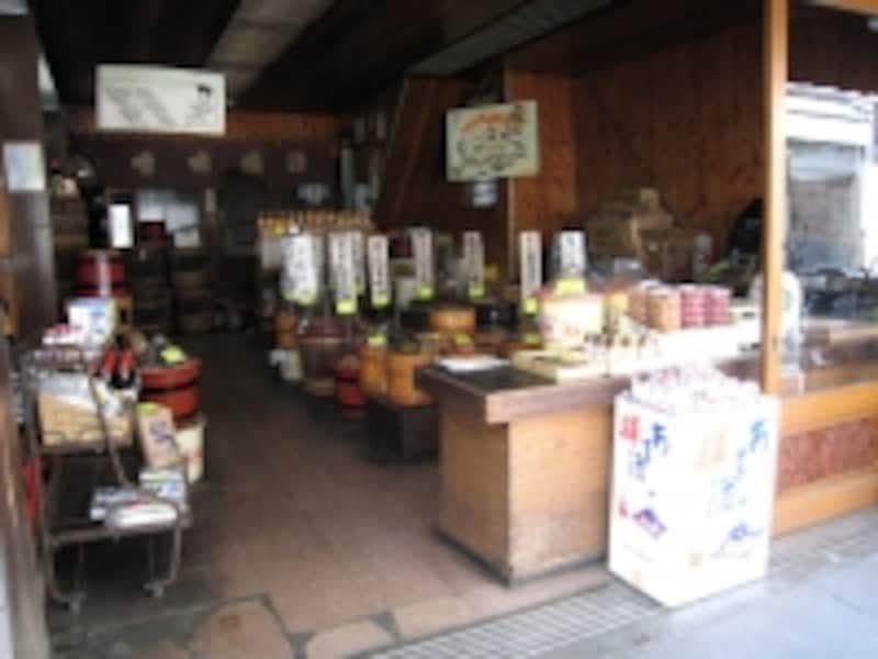 味噌専門店