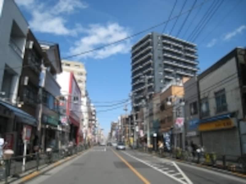 尾竹橋通り
