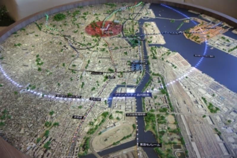ブランズシティ品川勝島の現地圏域図