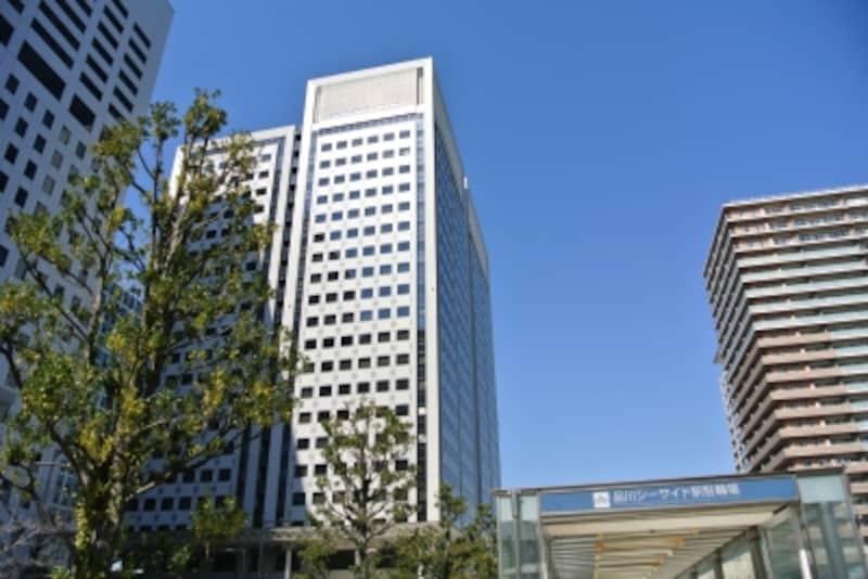 「品川シーサイド」駅の駅前