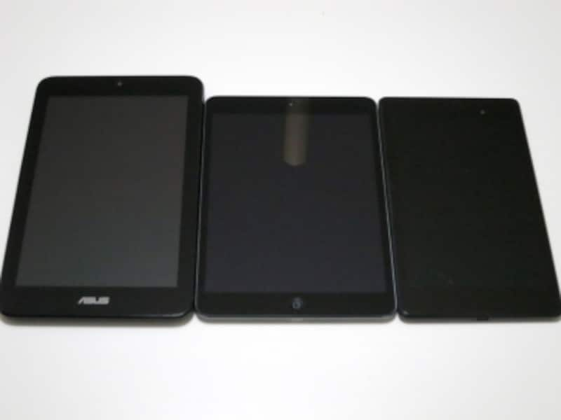 右からNexus 7、iPad mini、VivoTab note 8