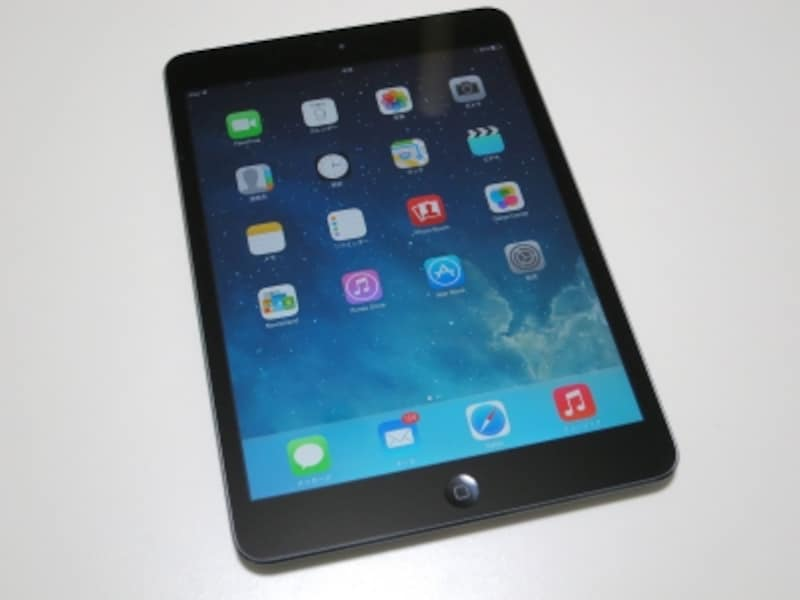 iPadminiは優れた道具。