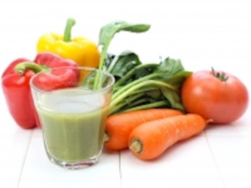 豆乳×野菜ジュース