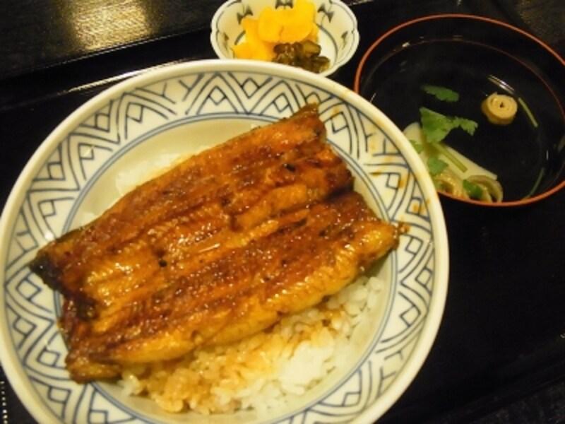 うな丼undefined1800円