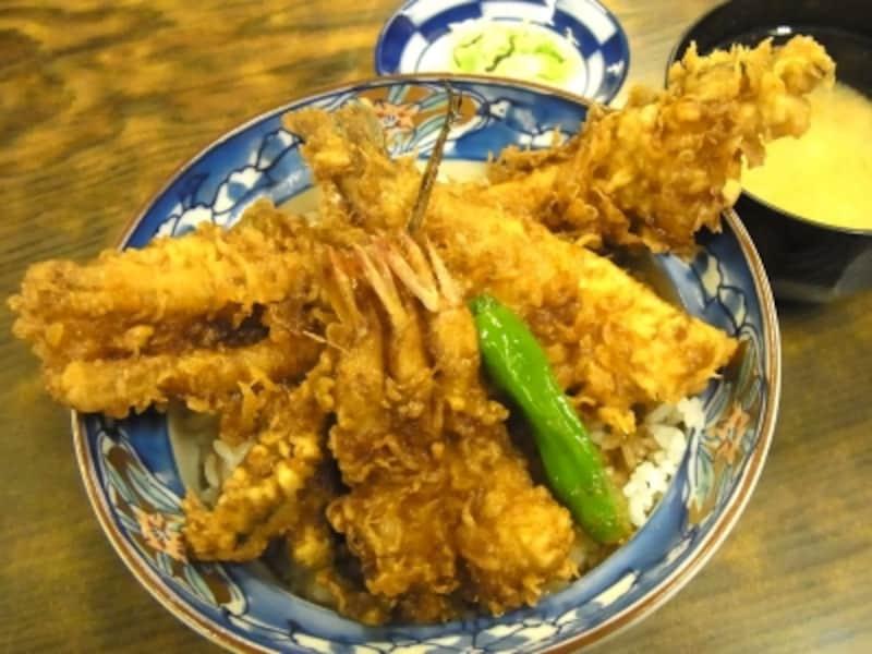 江戸前天丼1700円