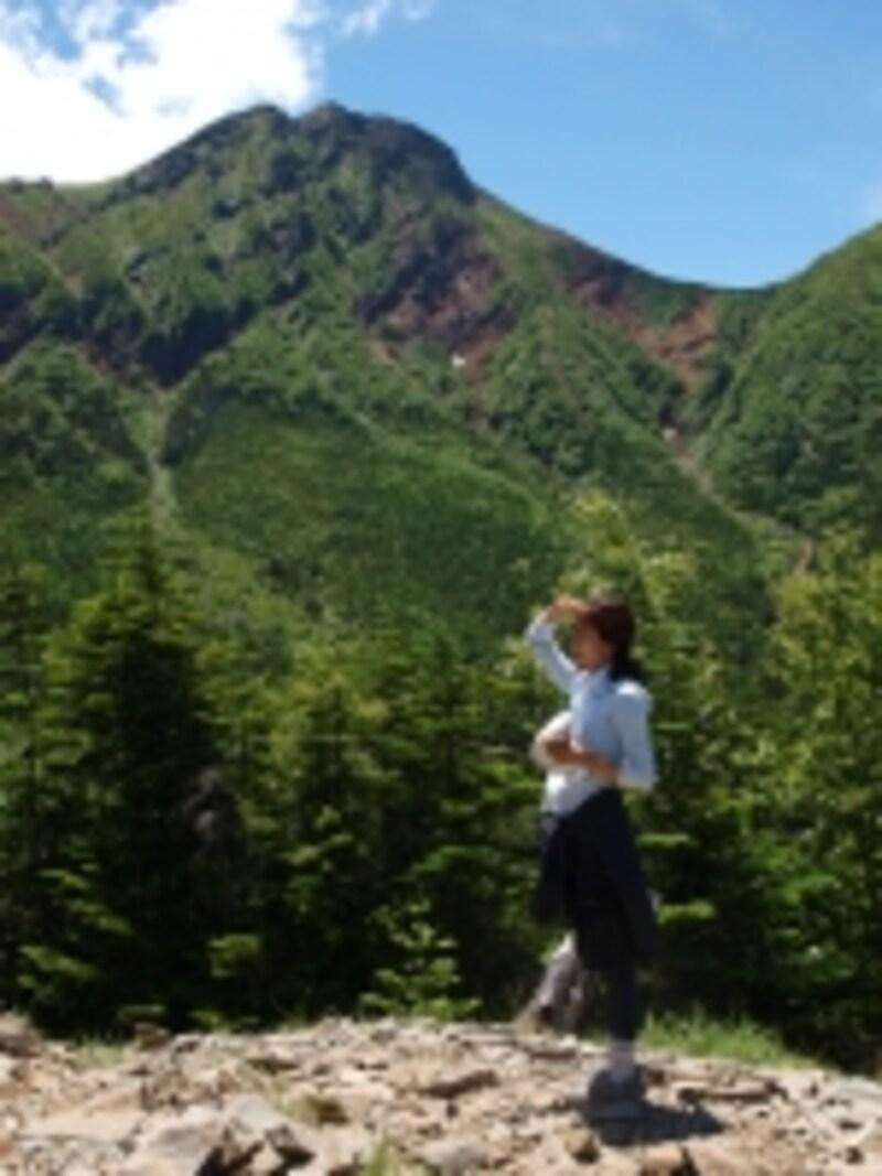 八ヶ岳にて