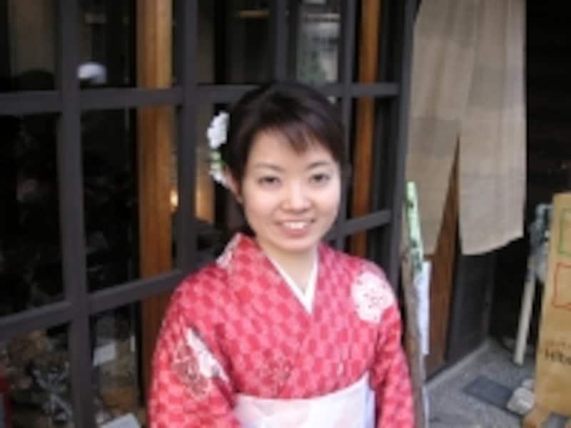 今回お話を伺った松田直子さん。森林バイオマスの利用促進を目的とした会社を運営しています*