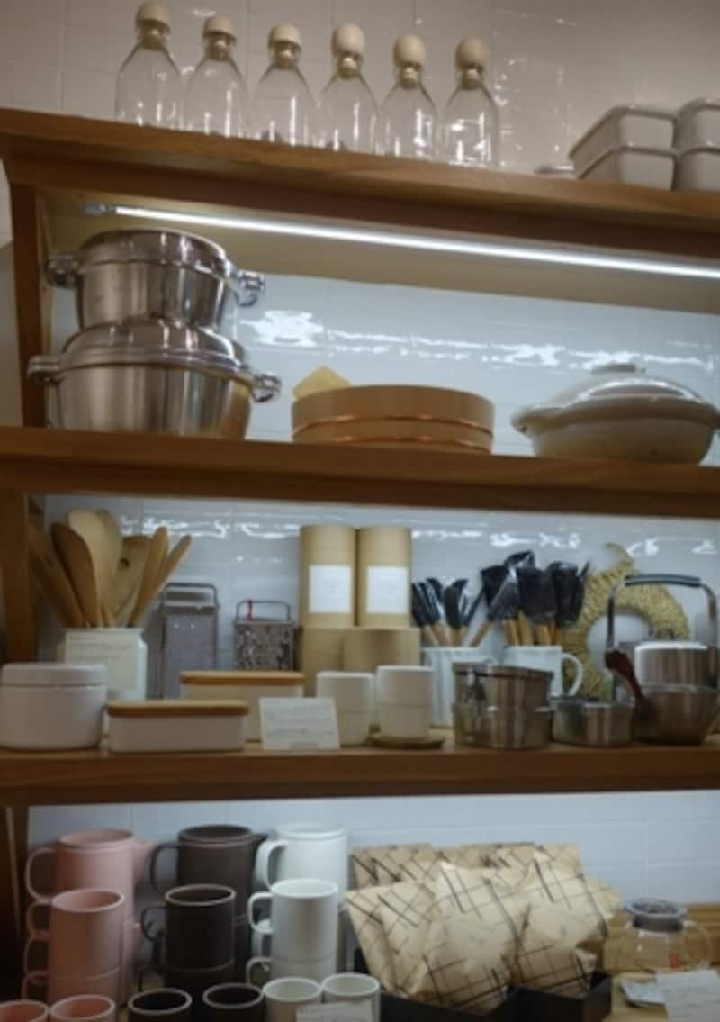 キッチン用品はかなり種類があります。