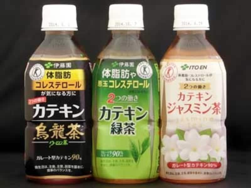 伊藤園カテキン烏龍茶・緑茶・ジャスミン茶