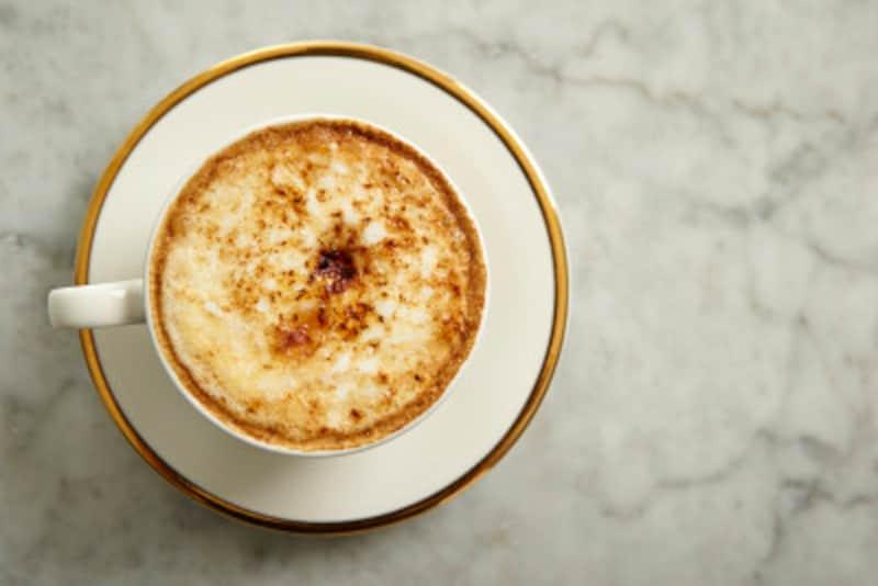 カフェ・オ・レ好きには何とも嬉しい朝の泡立ちの一杯