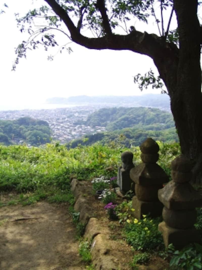 衣張山山頂から望む景色