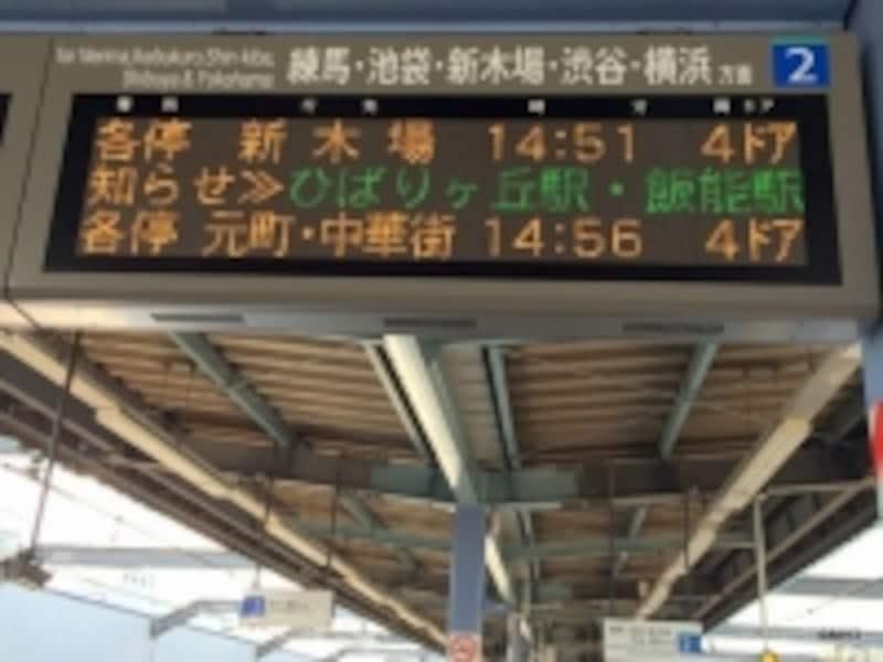 西武池袋線「富士見台」駅