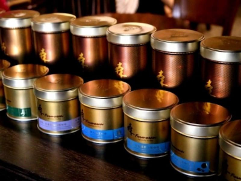 迪化街にあるカフェは台湾コーヒーが豊富にそろう