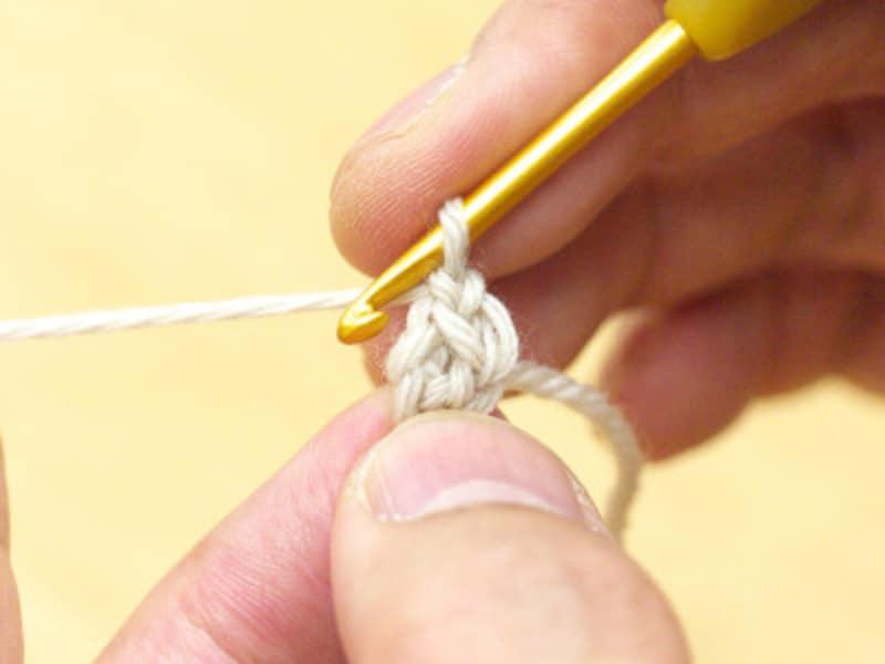 鎖編み1目