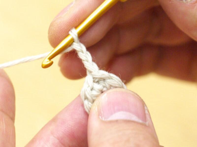 鎖編み3目