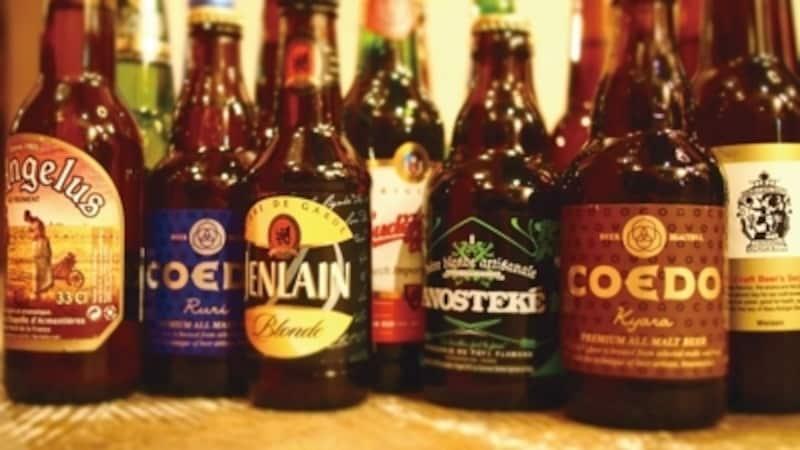 様々なクラフトビールが楽しめる!