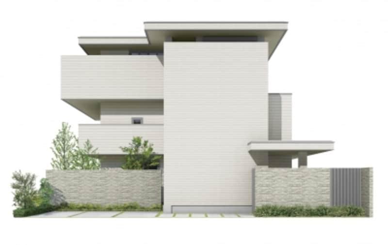 住宅地に建てるなら、小規模で戸建てのような外観の賃貸併用住宅プランにするという方法もおすすめです
