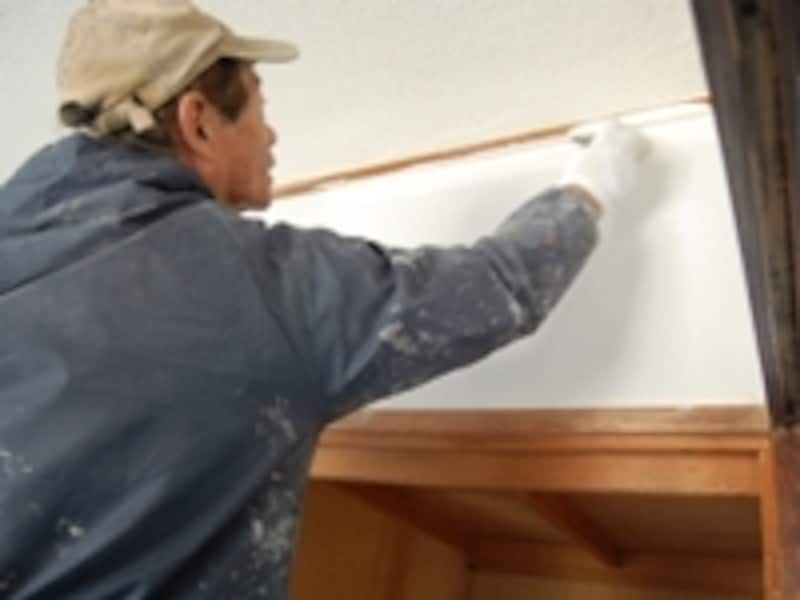 Yさんはコストとのバランスを考慮し、クロス仕上げを諦め、塗装仕上げを選択しました。