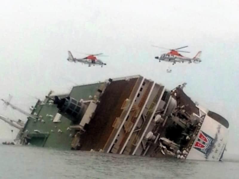 セウォウ号の沈没