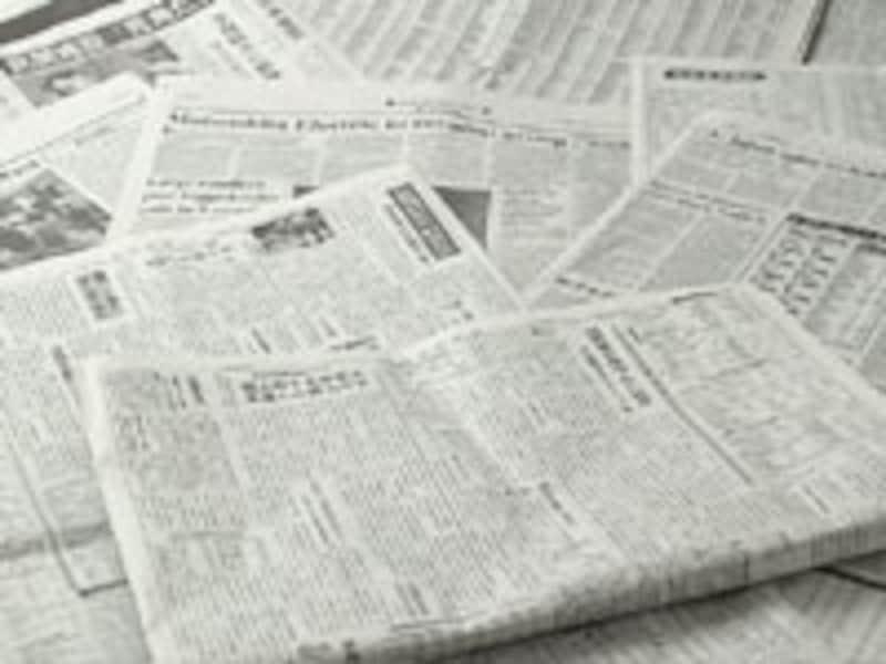 新聞紙は、拭いて、ちぎって、敷いてもいい万能アイテム