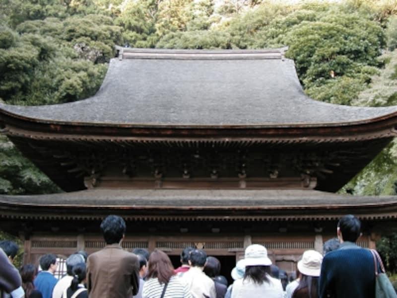 円覚寺の国宝建築「舎利殿」