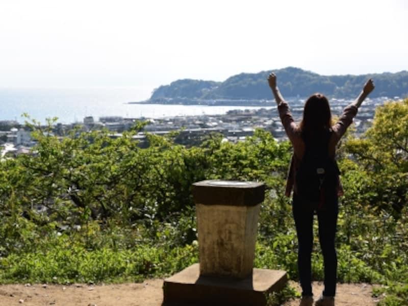 鎌倉で、海の景色も楽しめる低山ハイキングを楽しみましょう!
