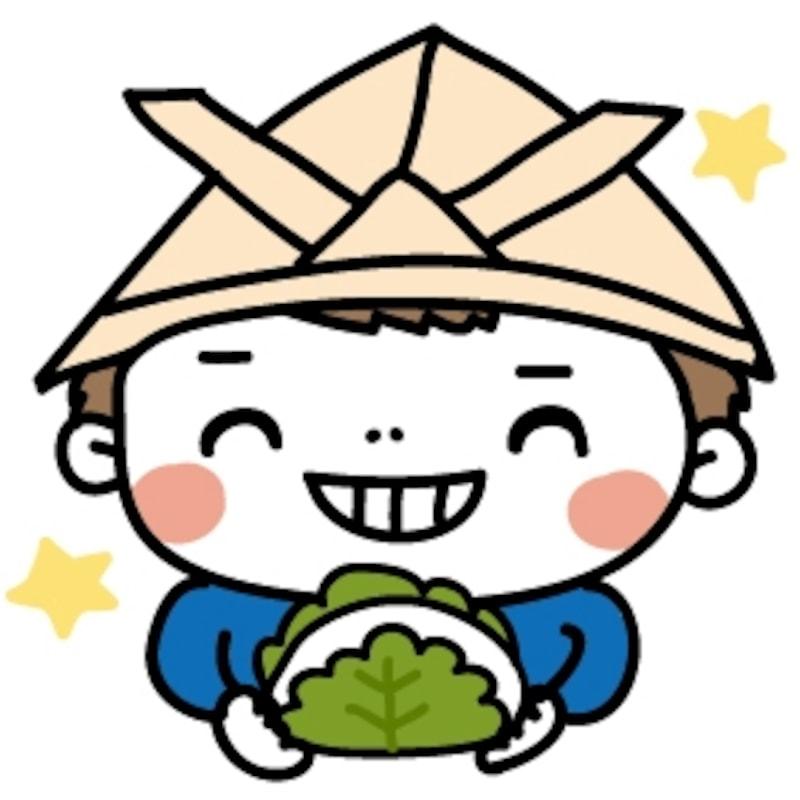 【カラー】柏餅を嬉しそうに食べる男の子です。【こどもの日のイラスト】
