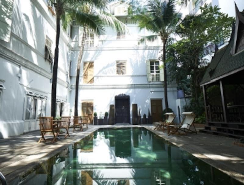 インドシナの雰囲気漂うコロニアル建築のホテルにステイしながら健康に!
