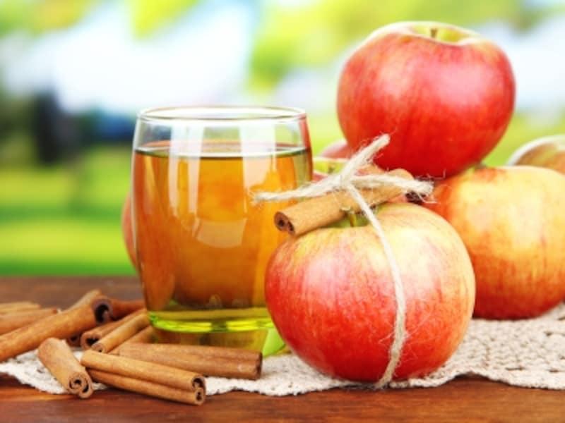 健康効果の高いアップルとシナモンでダブルの効果