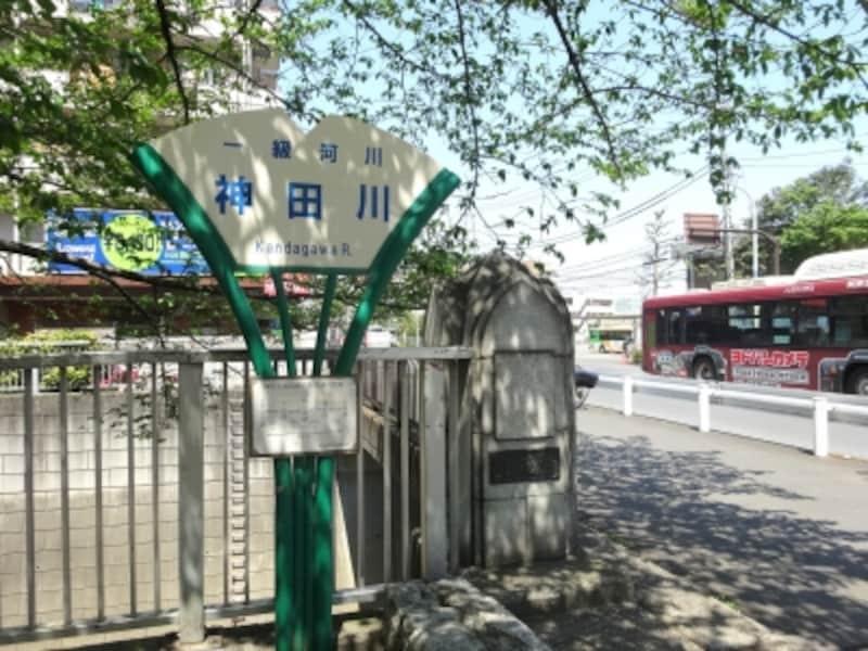 早稲田通りにかかる橋だ