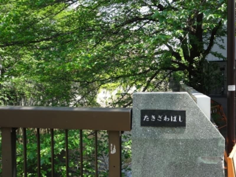 散歩道はこの先の神高橋から再開される