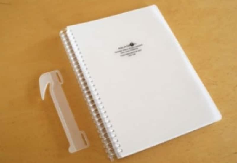 ツイストリング・ノートをさらに活用できるようになる「リングノート用リムーバー」