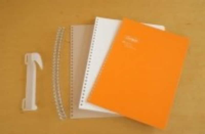ノートの中から紙をキレイに取り出せる