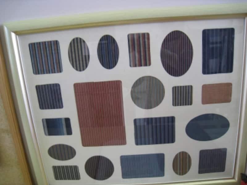 川越唐桟の縞模様。色んな縞があります。