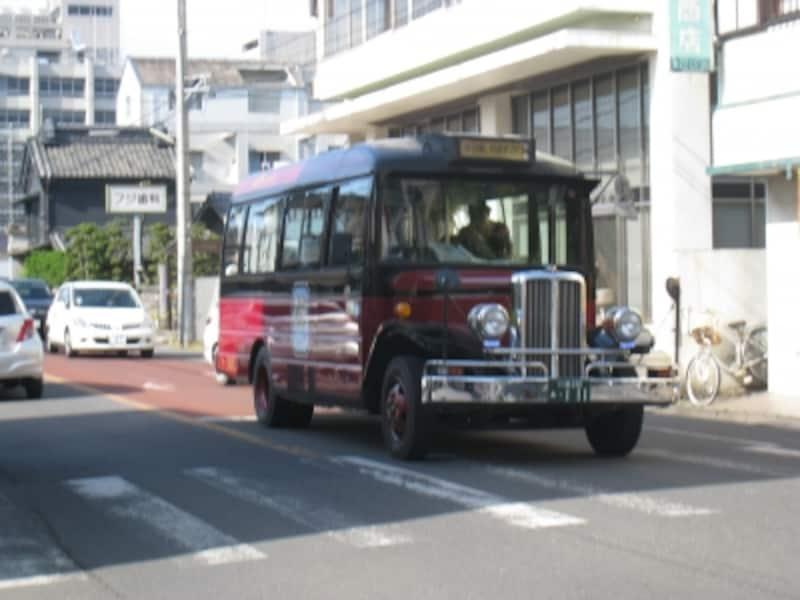 小江戸巡回バスも着物でどうぞ。割引あります。