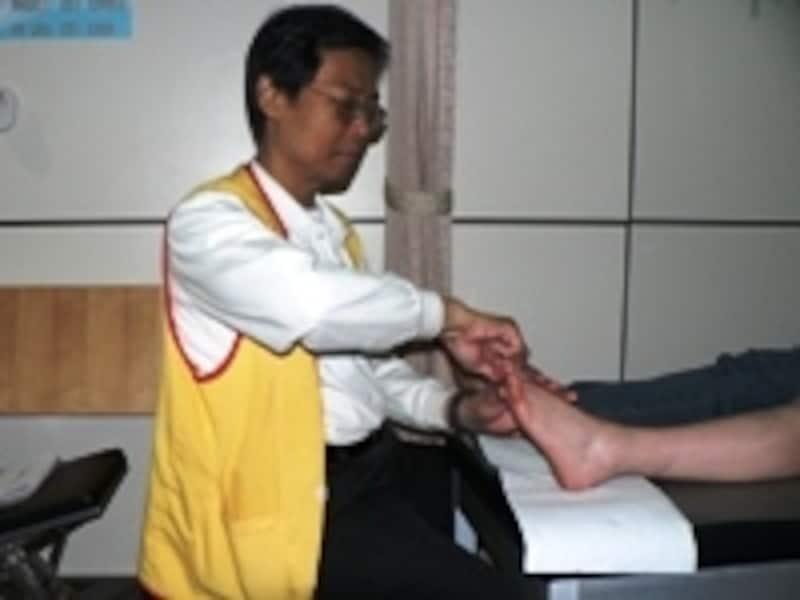 10数年のキャリアを持つ陳敏輝先生のマッサージは、骨までとろける気持ちよさです