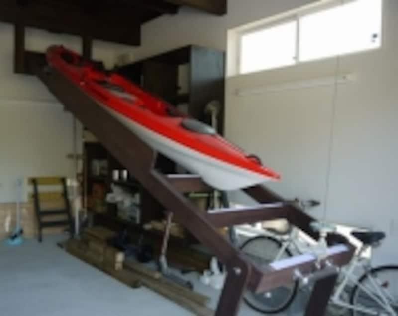 カヌー置き場