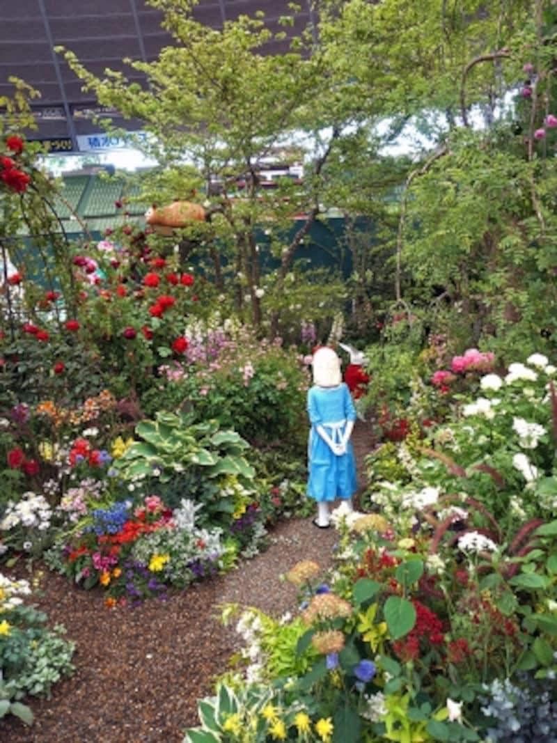 不思議な国のアリスの庭