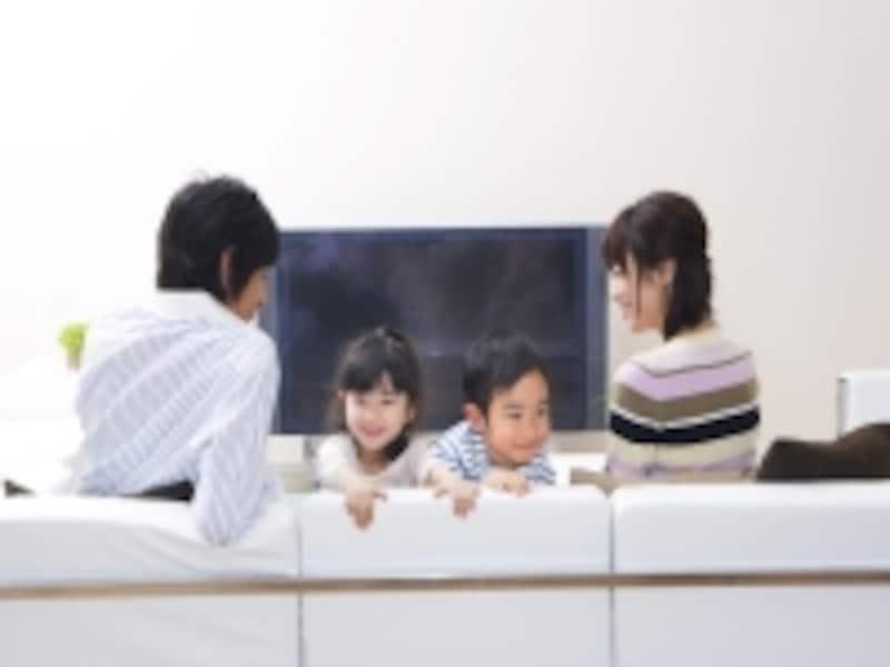 テレビと上手につきあっていくのも現代の育児のポイント