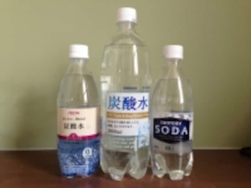 水に炭酸添加