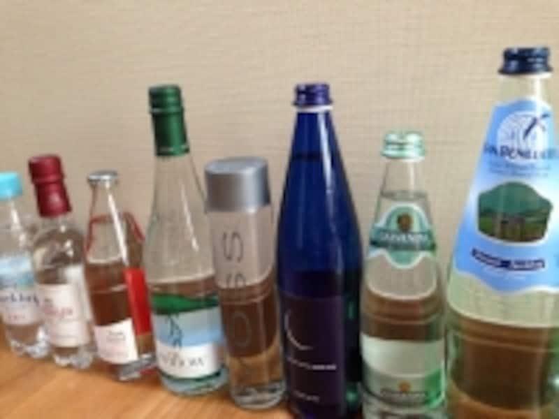 天然水に炭酸添加